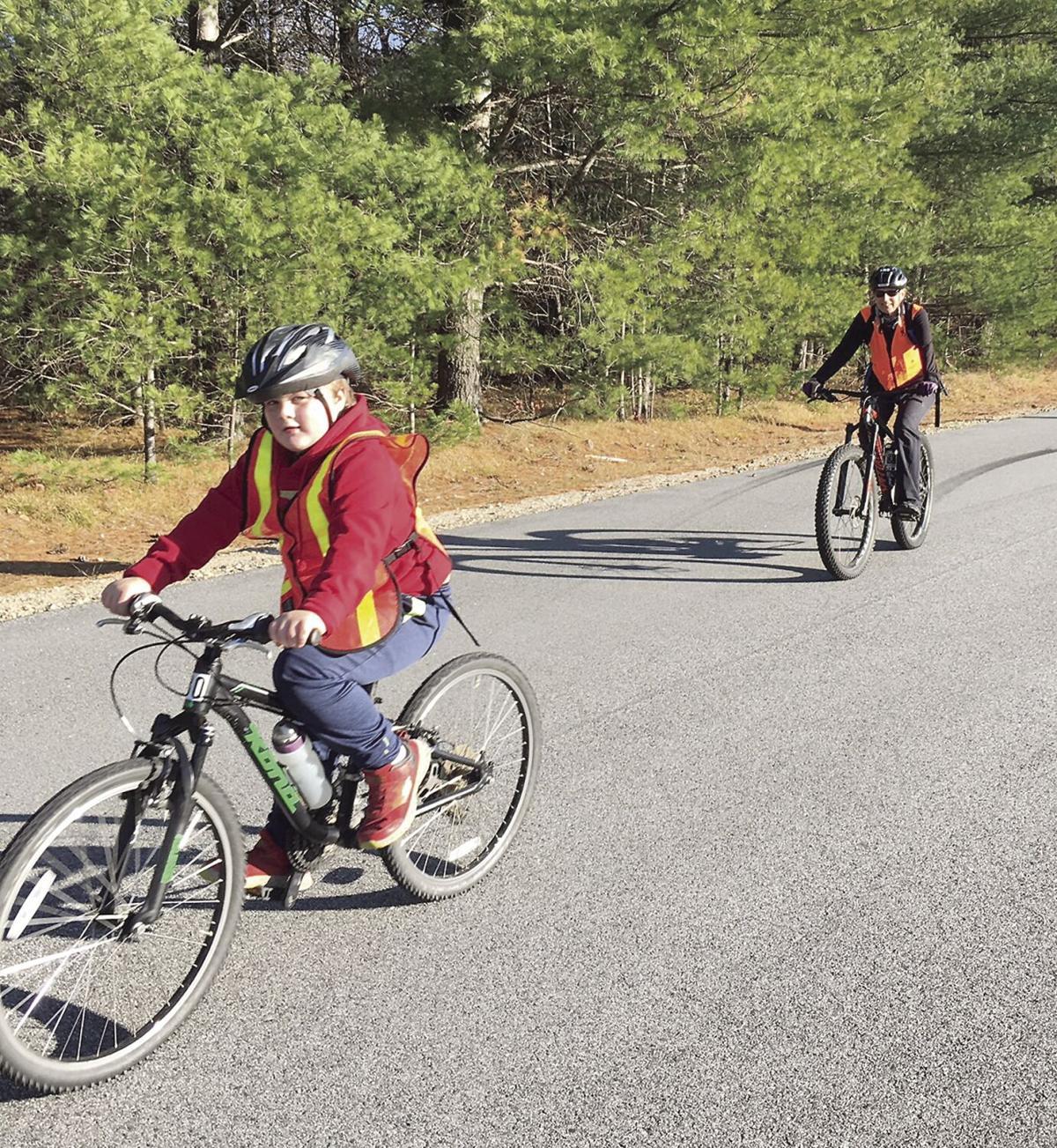 Wheel Family Fun - bikers wear orange in November