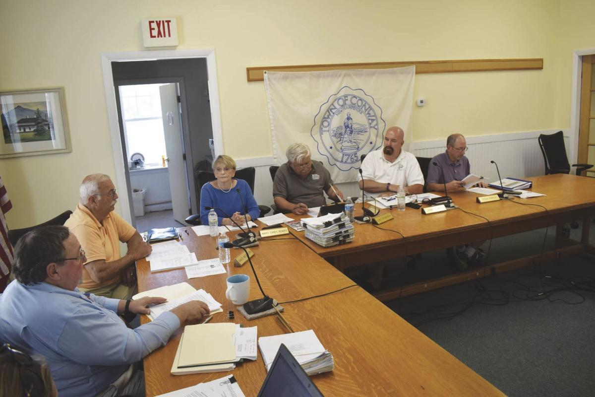 Conway selectmen July 9