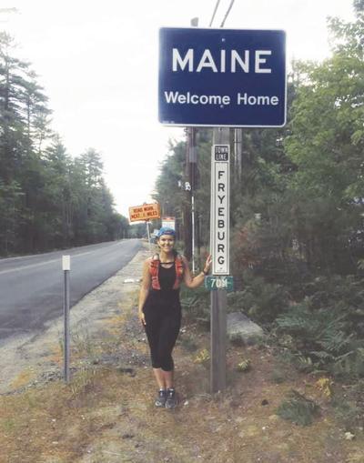 Katie Spotz completes run