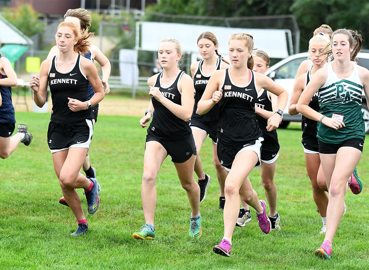 KHS Girls XC - start of the race