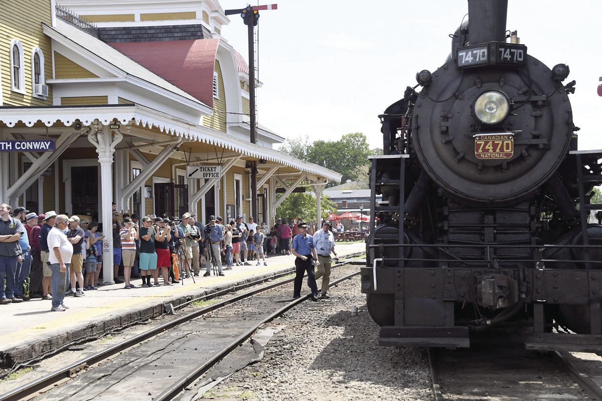 Conway Scenic names locomotive after RR founder | Local