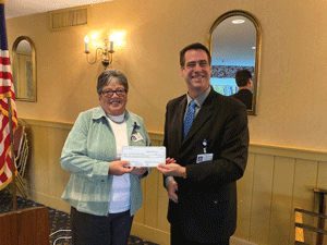 AVH Auxiliary donates $25,000 to the hospital