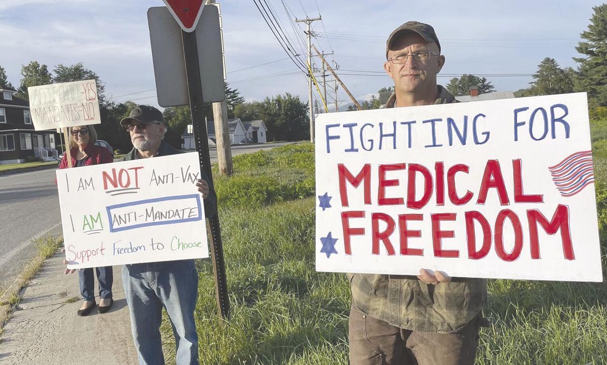 Protesters challenge vaccine mandate