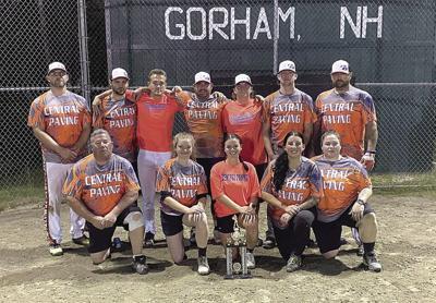 Gorham Co-Ed Softball champs — the Bombers