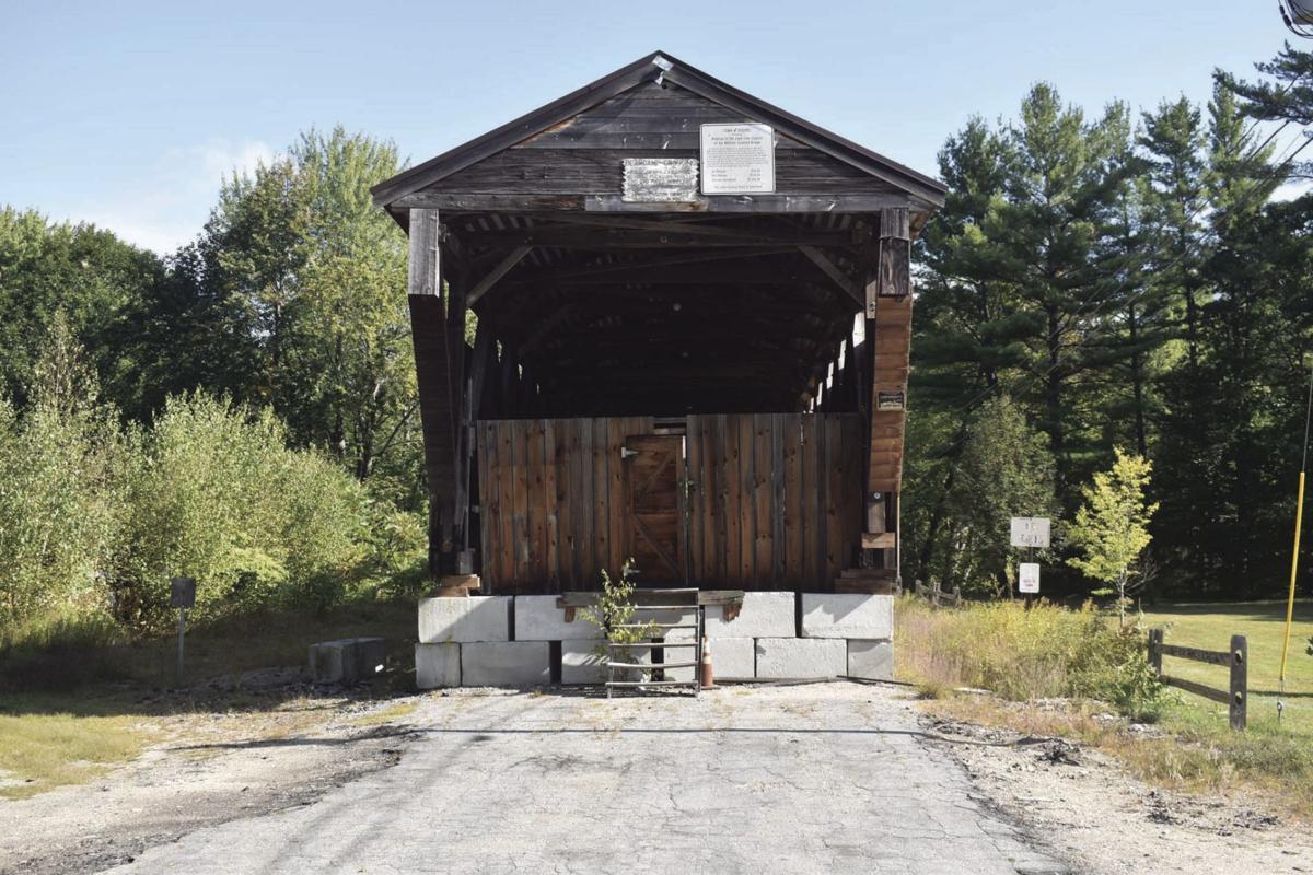 Whittier Covered Bridge as seen Sept. 17