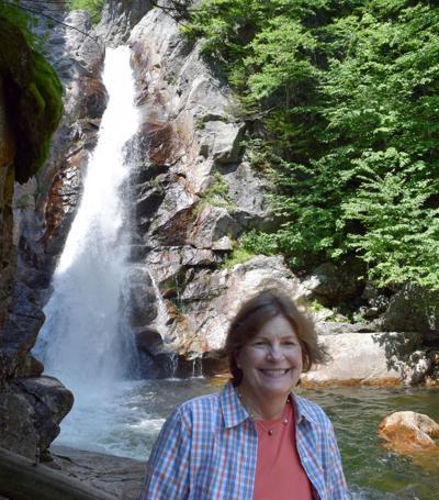 Shaheen visits Glen Ellisi Falls