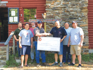 Scrub Oak Scramblers donate to Fire Rescue | News | conwaydailysun com