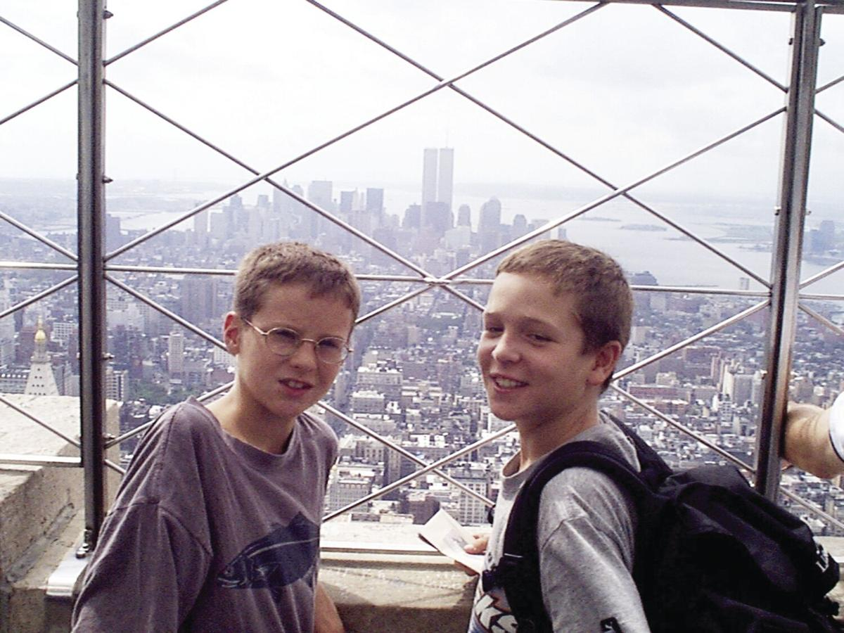 son and friend towers