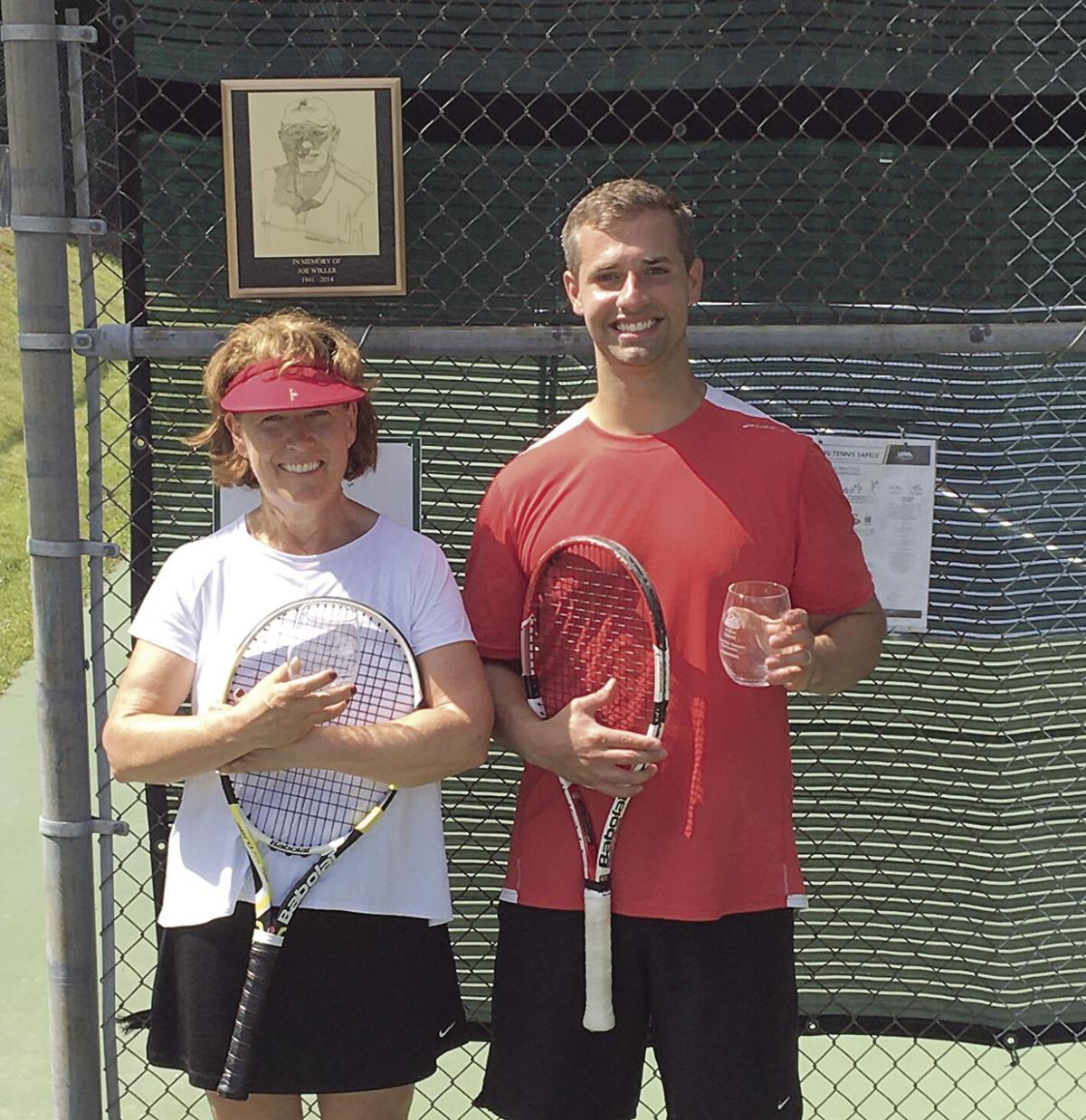 Joe Wikler Memorial Mixed Open Doubles champs