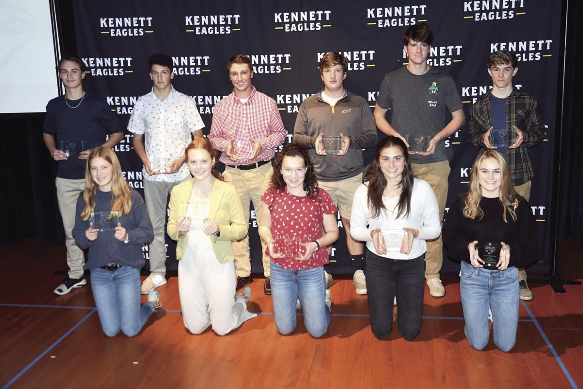 KHS Fall Sports Awards - group winners