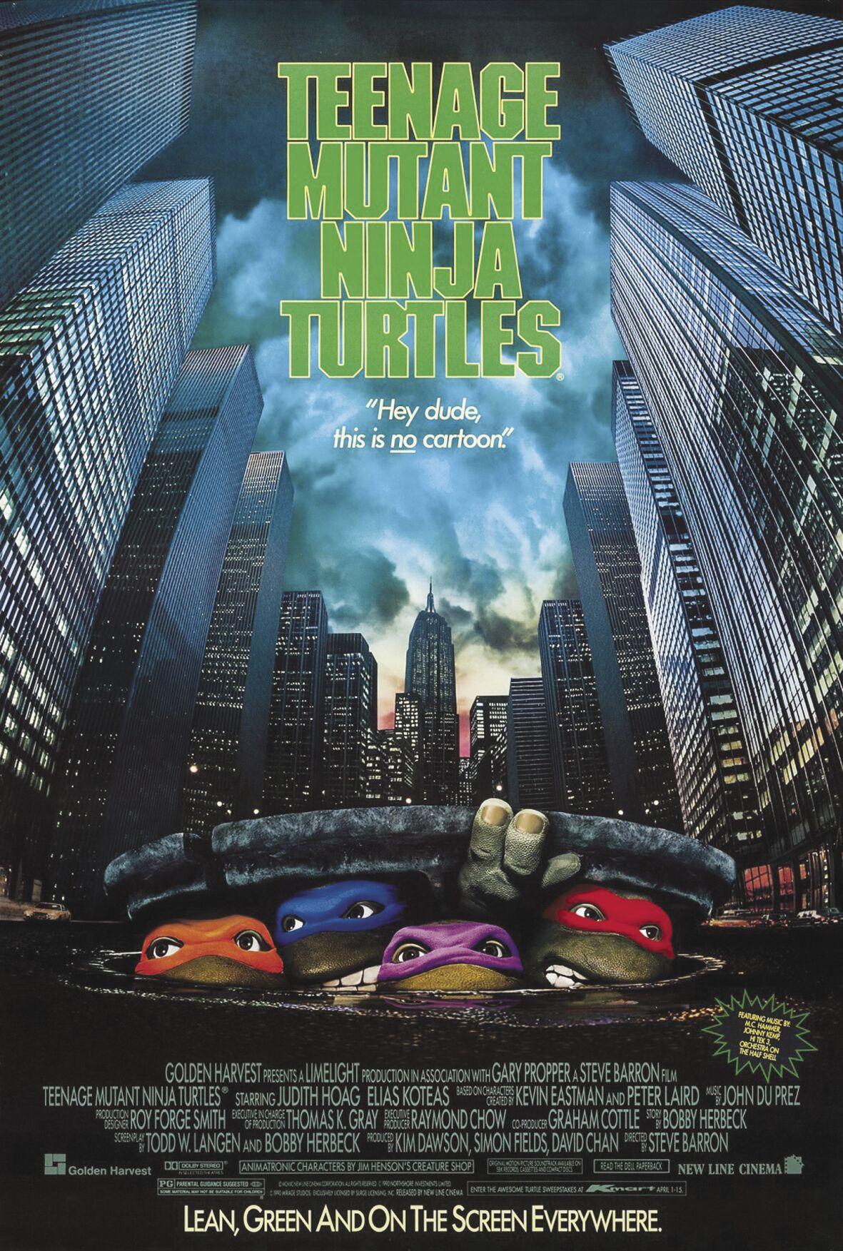 Teenage Mutant Ninja Turtles-Poster
