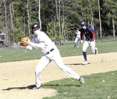 KHS Baseball - Same Seavey at third base