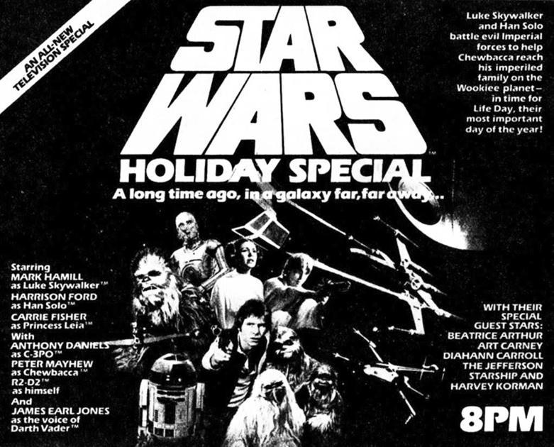'Star Wars' and Christmas make strange bedfellows