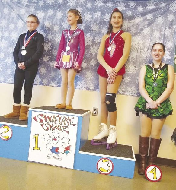 Local skaters place in competitions; pass national testing level