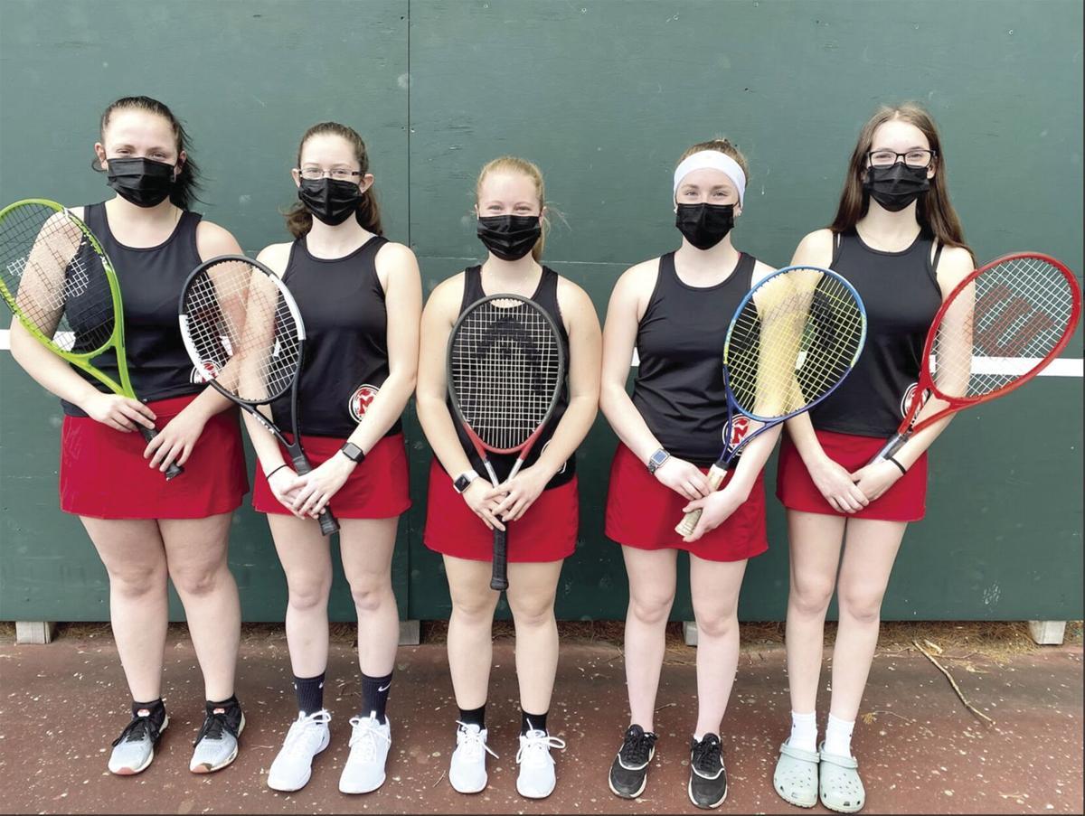 Berlin High Girls Tennis Seniors 2021