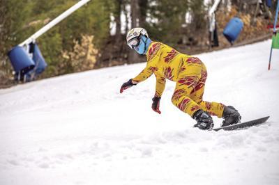 Mountain Meisters - Week 10 - Dave Paulger snowboarding