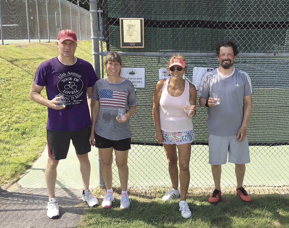 Joe Wikler Memorial Mixed Open Doubles Consolation round finalists