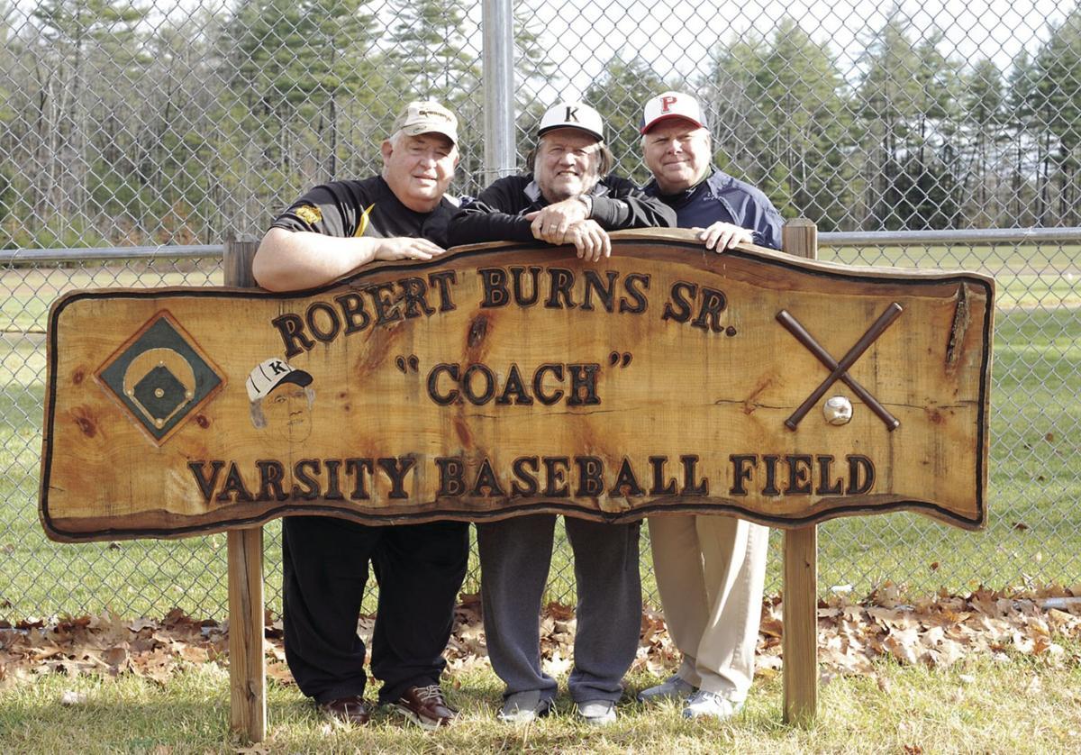Three baseball icons