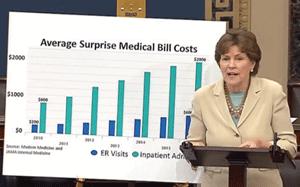 Dark money ads aim to derail efforts to end surprise medical bills