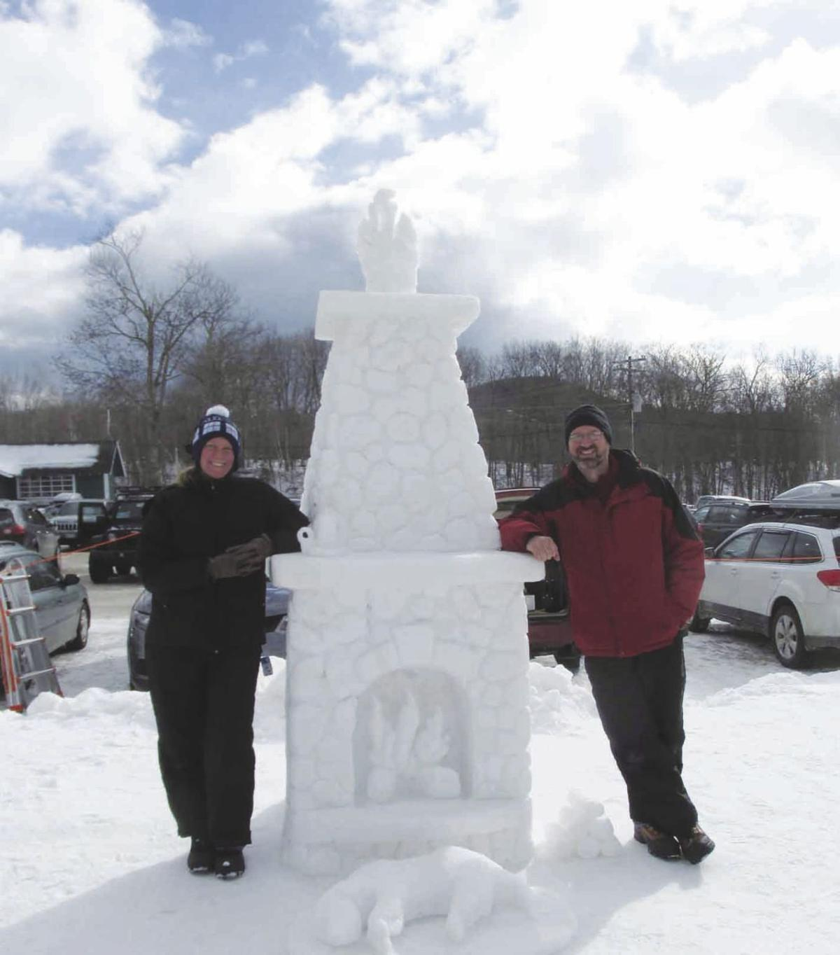 Snow sculpture contest at Black Mountain through Sunday | Local News ...