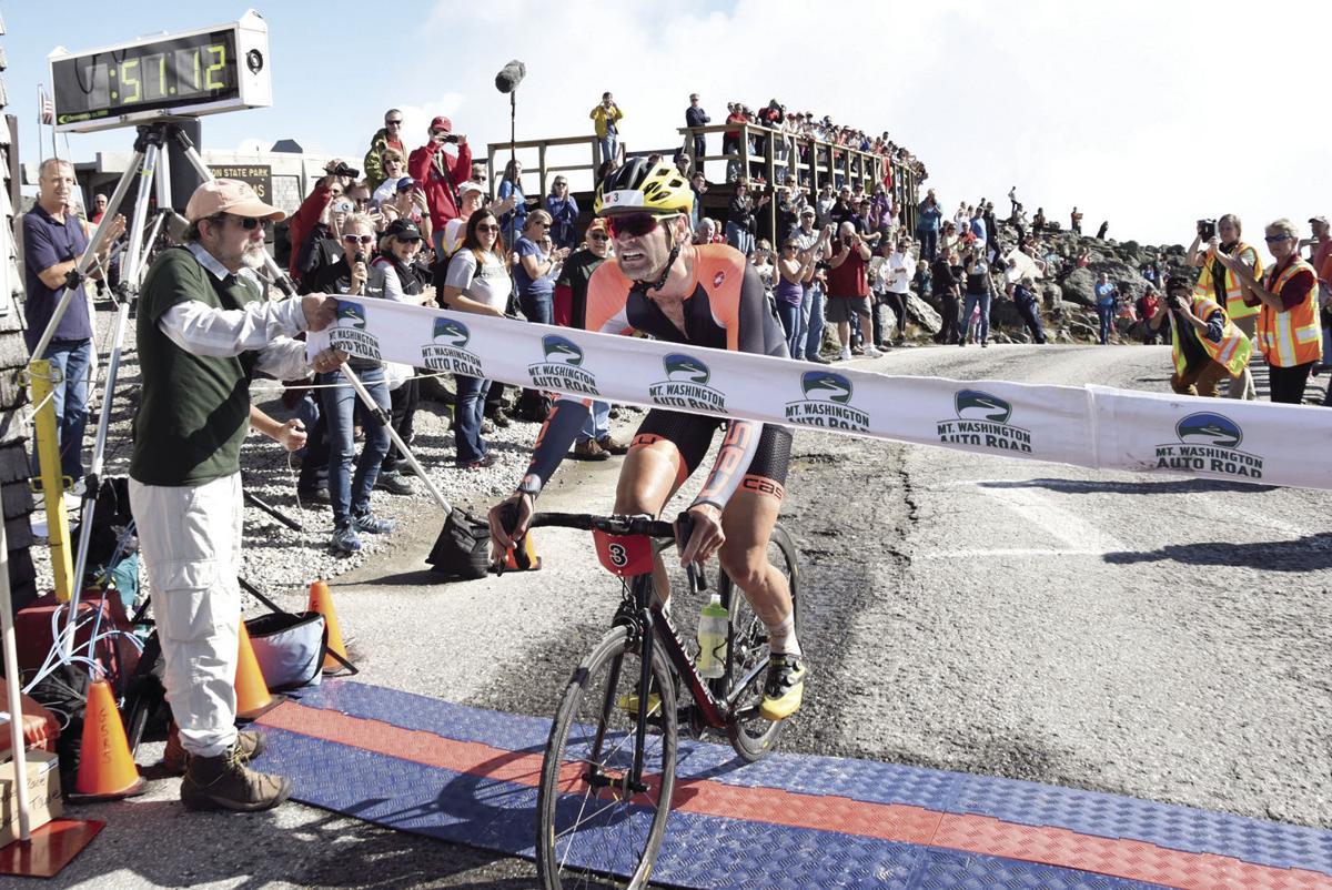Gaimon wins 45th Mount Washington Hillclimb