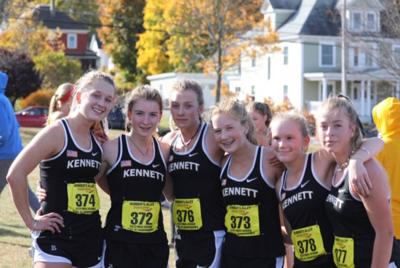 KHS Cross-Country - girls at states