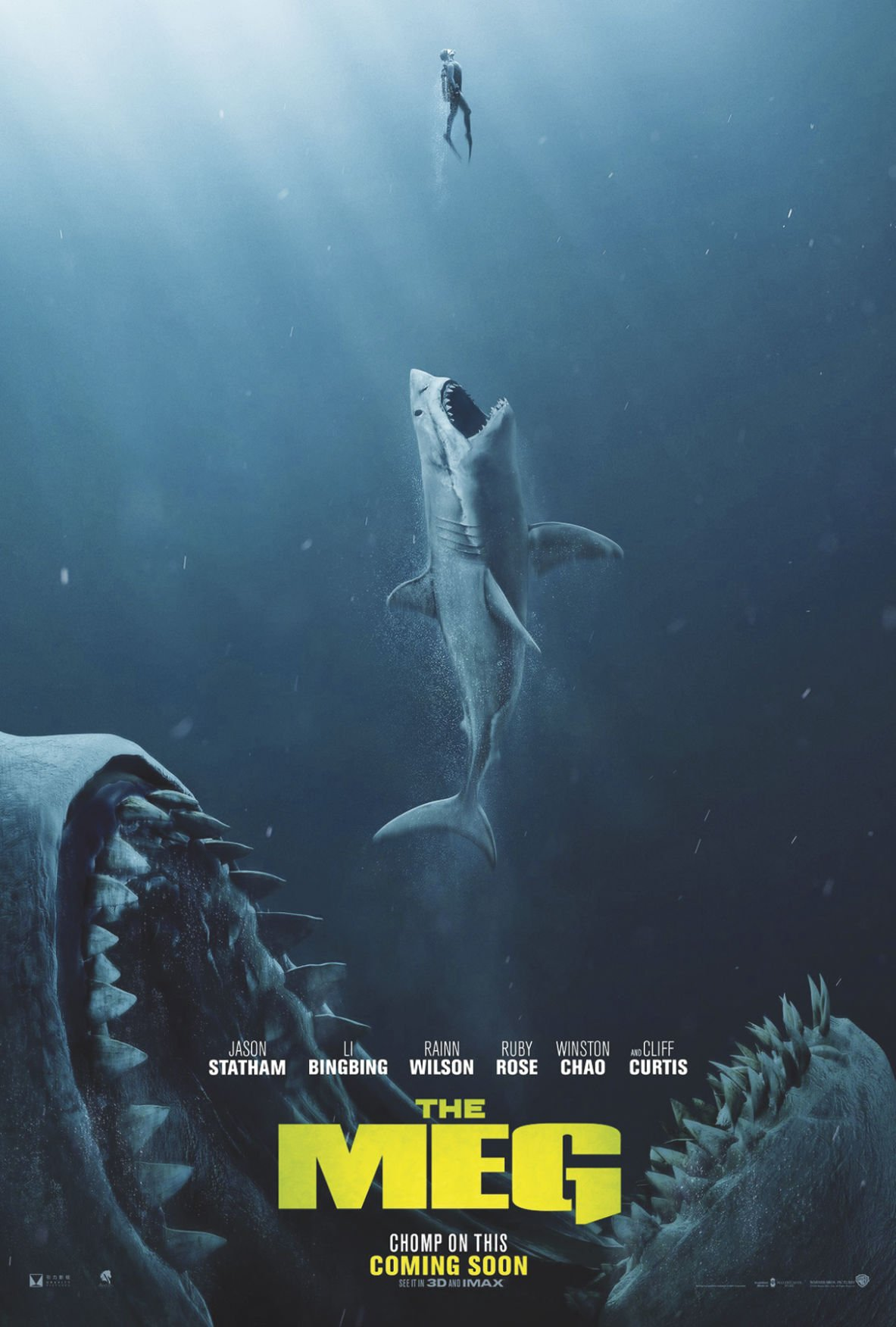 Review: Statham shark movie 'The Meg' delivers | Movies | conwaydailysun.com