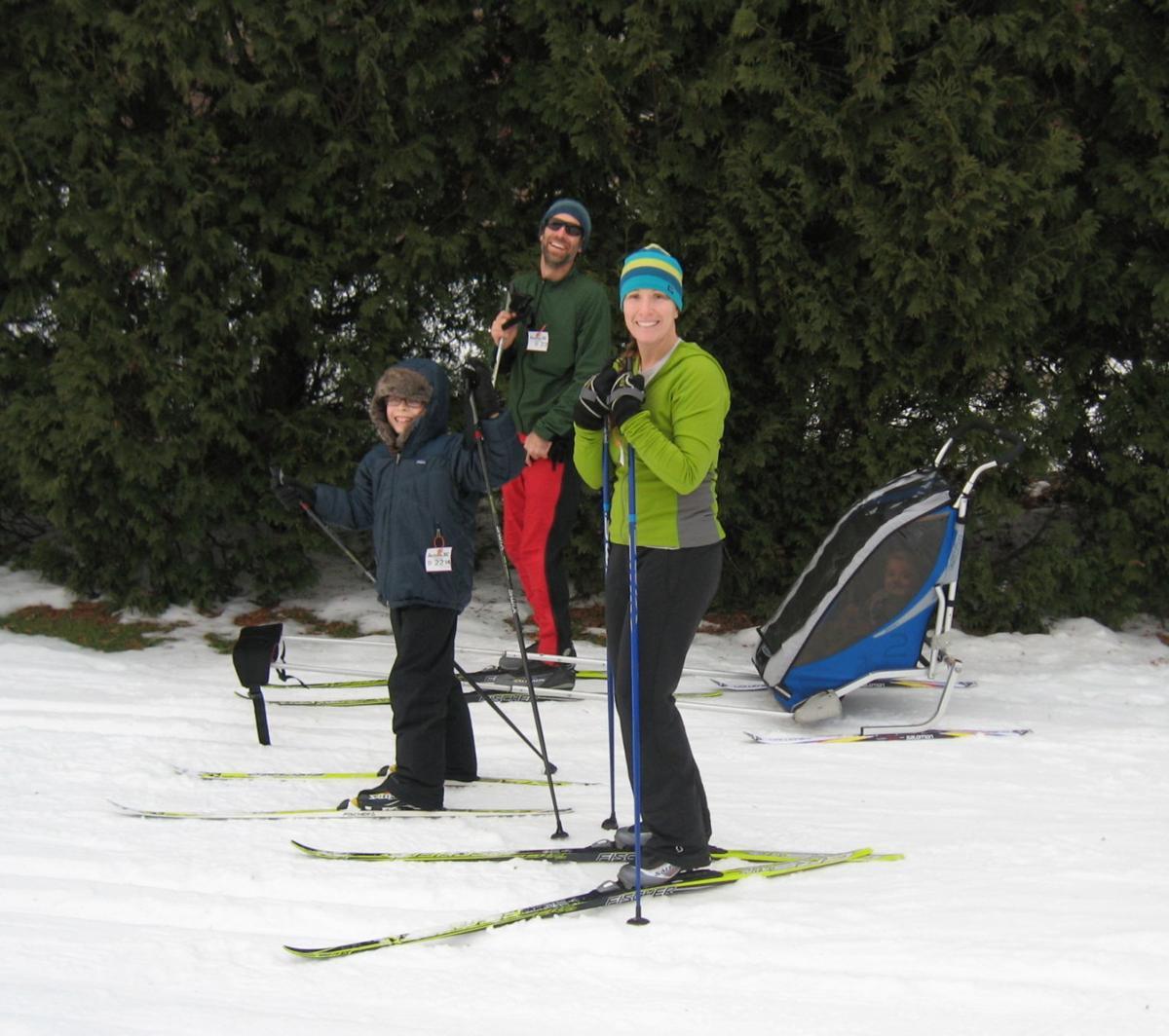 family XC ski