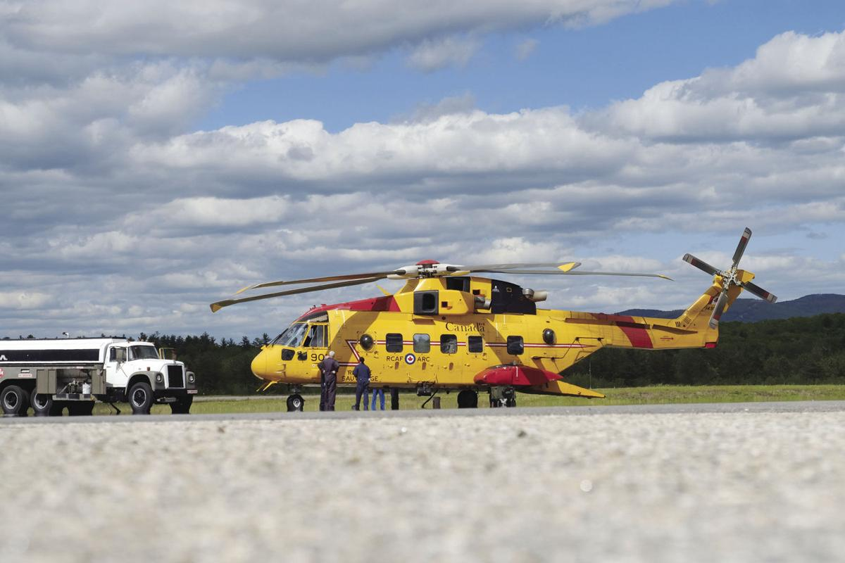 6-5-19 Canadian Rescue Helicopter training