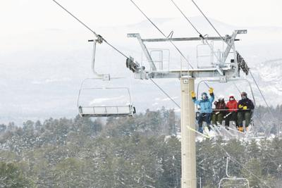 1-3-2021- Cranmore Chairlift