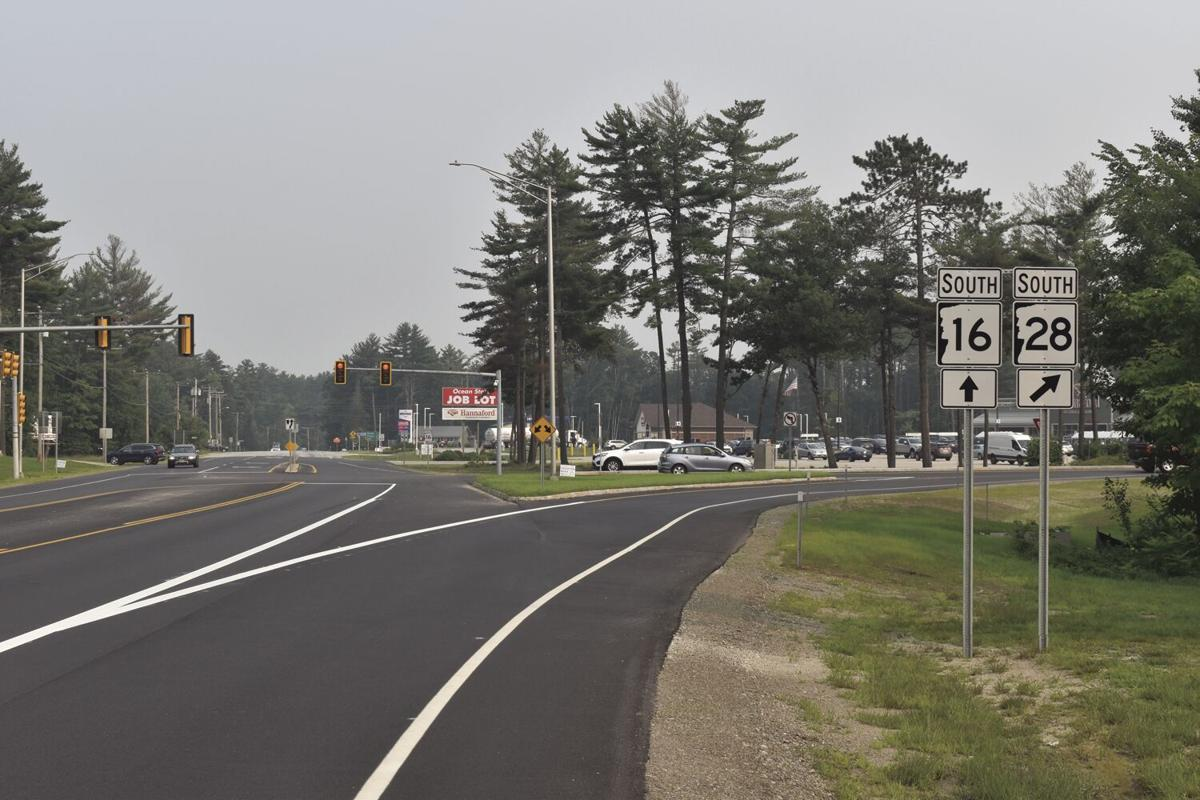 Route 16 28 intersection