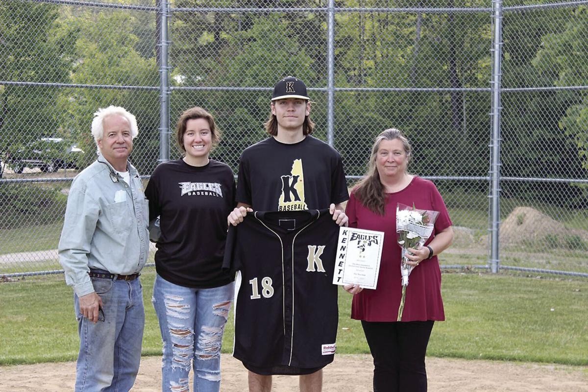 Baseball seniors - Will Eaton