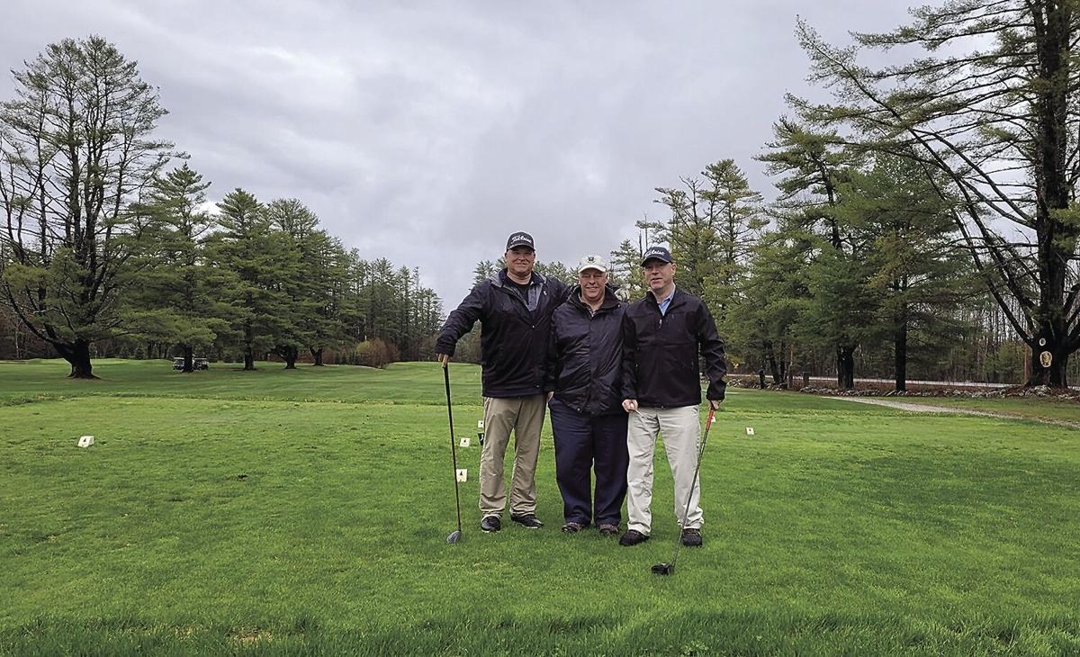 For the Golf Column - John Eastman with Bruce Ela and Jeff McLellan
