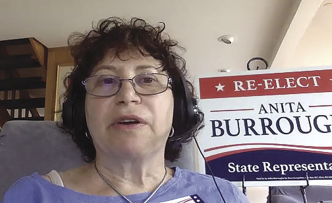 Zoom Forum - Rep. Anita Burroughs