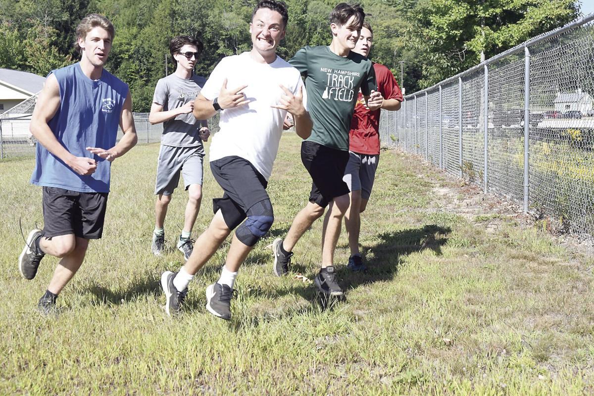 KHS Cross-Country Running - boys 1.5-mile run
