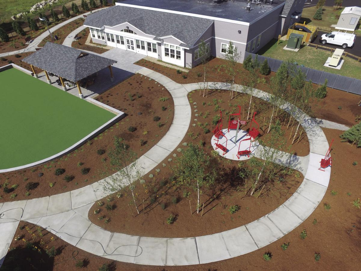 aerial view of Adult Day Center