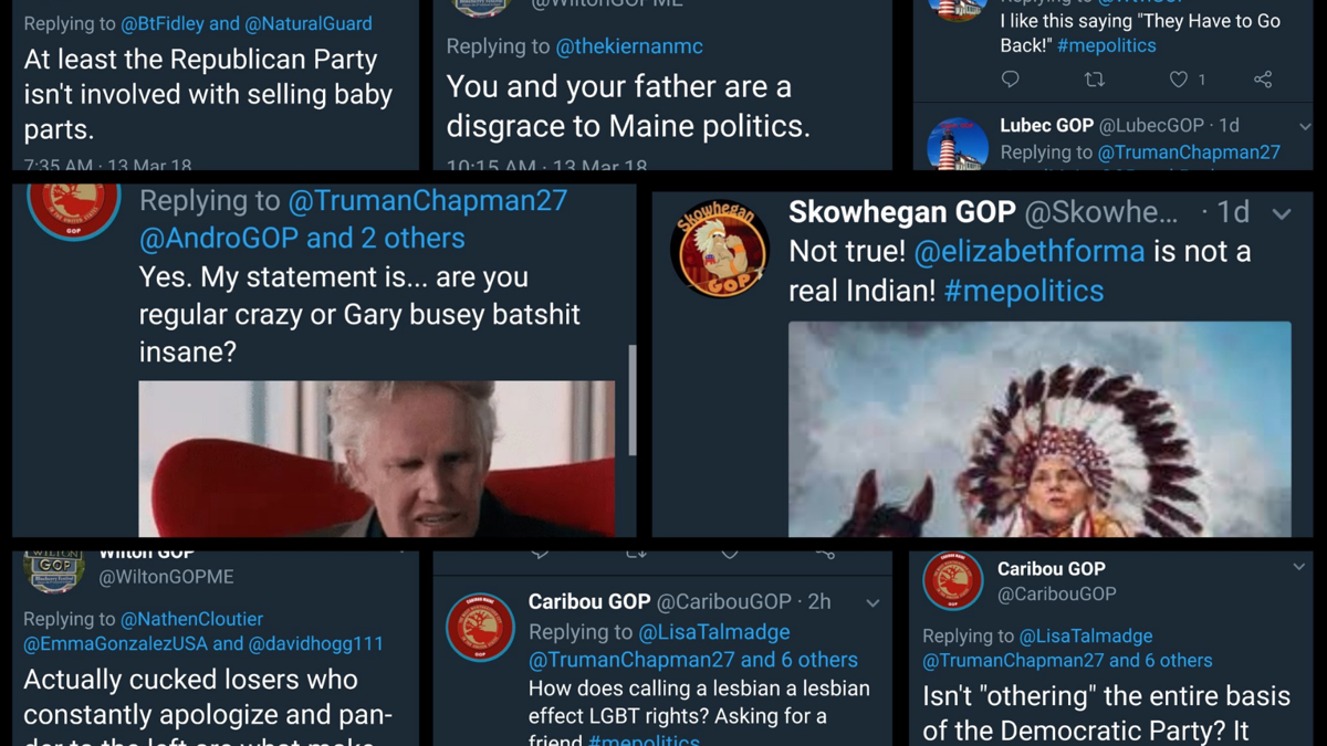 "Unmasking Maine's Right-Wing Twitter Bots — How a ""Troll Network"" toppled Leslie Gibson and is fighting #mepolitics disinfo"