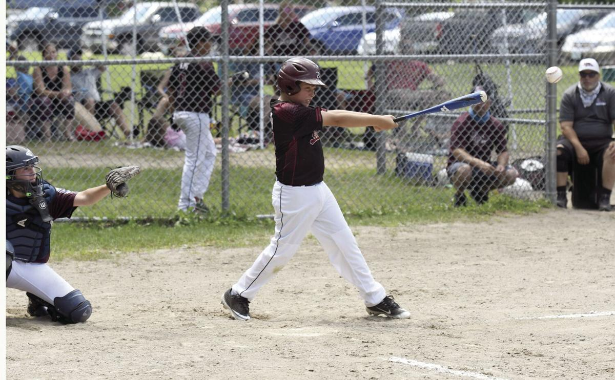 Home Run Bulldogs - Colin Chester hitting