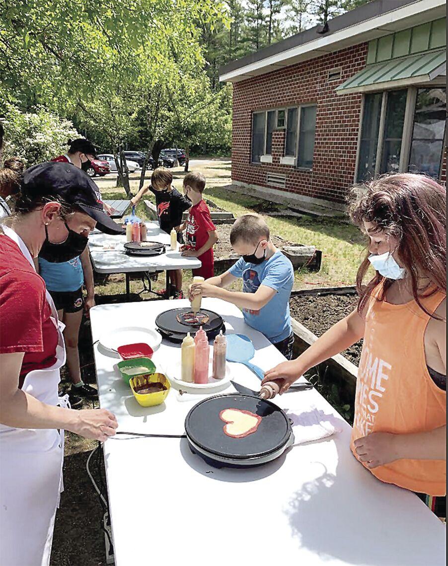 SAU 9 and 13 Career Day - pancake art
