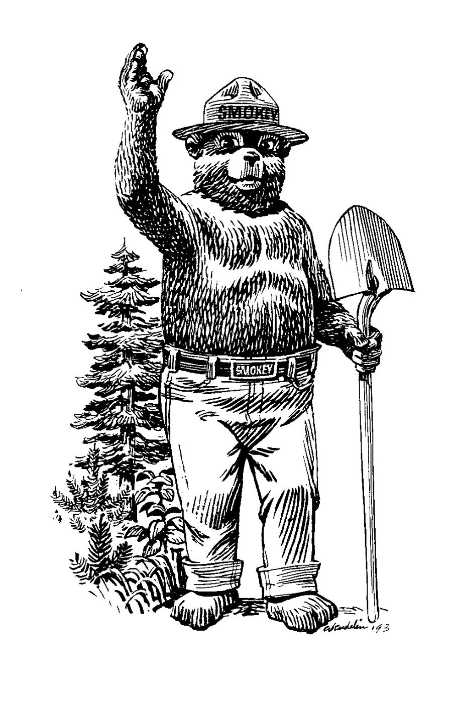 Smokey standing with shovel.jpg