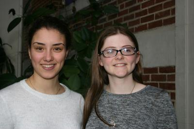 Two Gorham High seniors impress