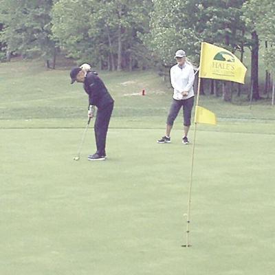 Golf Column - puttign at Hales