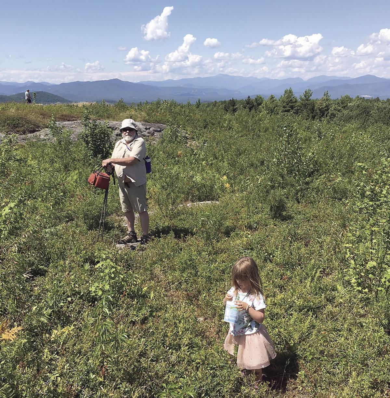Wheel Family Fun - Blueberry picking on Foss Mountain
