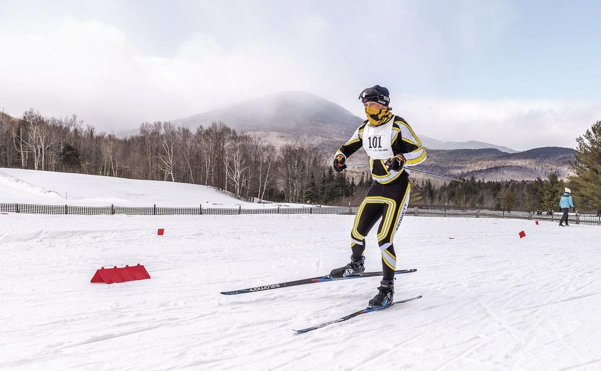 KHS XC ski - Theo Castonguay state meet