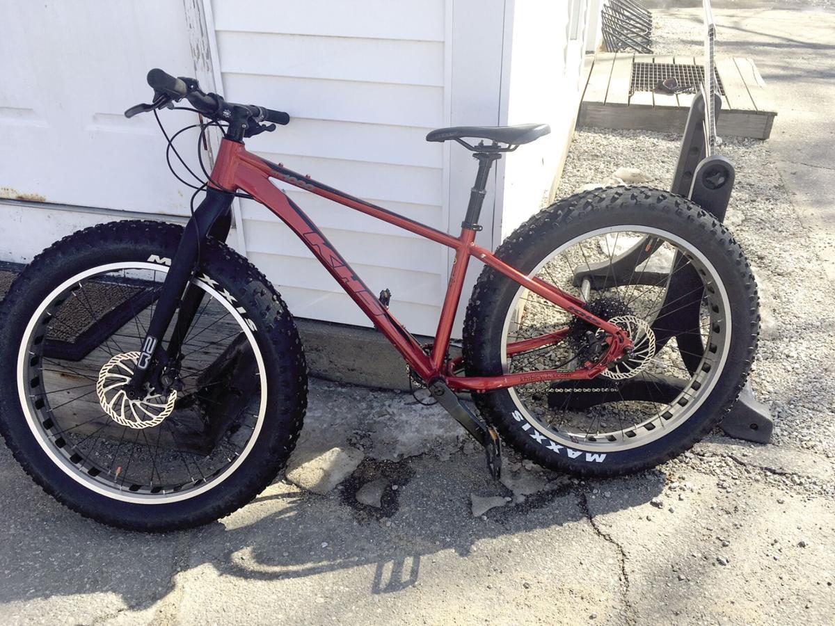 Nordic Tracks - KHS 1000 fat bike