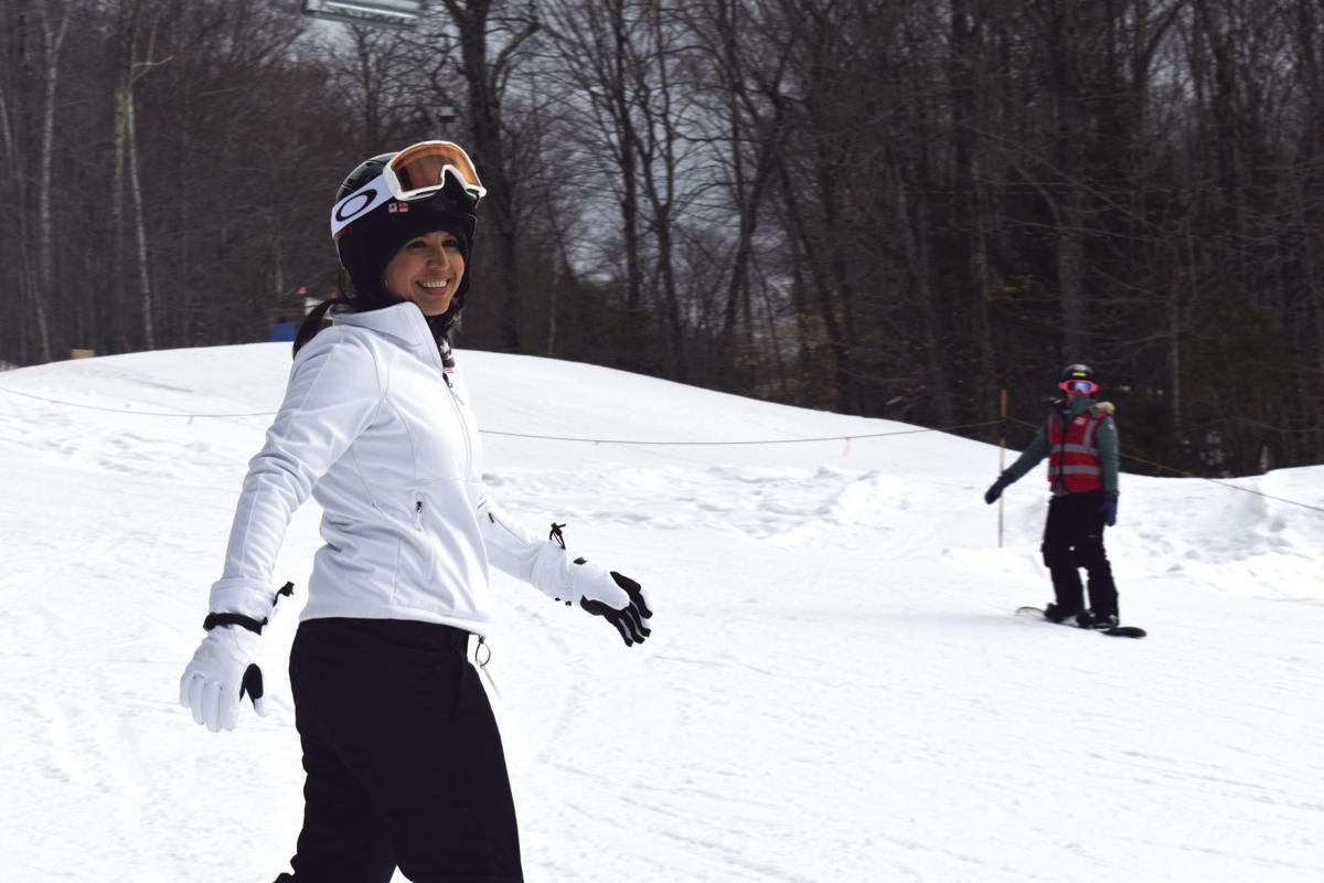 tulsi snowboarding