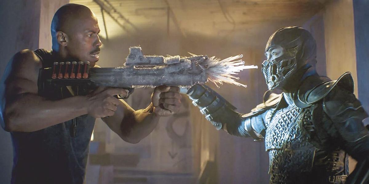 Mortal Kombat-Jax and Sub-Zero
