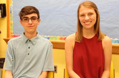 Gauthier and Bernier are Gorham High Valedictorian and Salutatorian