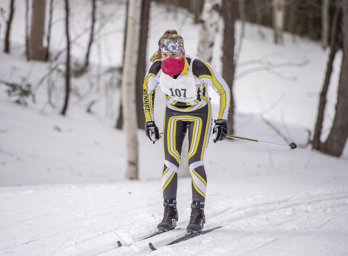 KHS XC ski - Grace Perley state meet