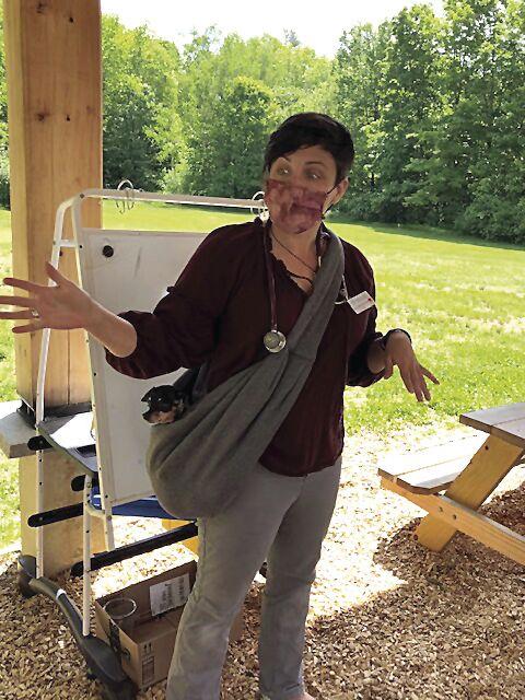 SAU 9 and 13 Career Day - Dr. Kate Battenfelder